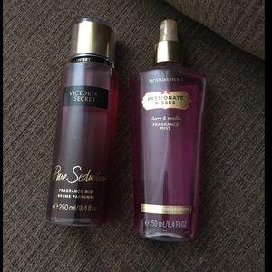 Victoria Secret body sprays